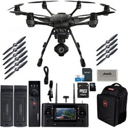 yuneec-typhoon-h-pro-hexacopter-with-intel-realsense-collision-avoidance-drone-with-cgo3-plus-4k-camera-st16-2-batteries-backpack-wizard-plus-free-64gb-micro-sd-and-jestik-microfiber-cloth